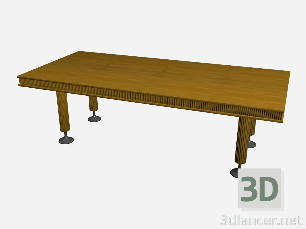 3d model table rectangular ruthy manufacturer il loft id 15943 for Table 3d model
