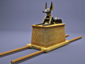 Egyptian Anubis Shrine Tutankhamun 3D