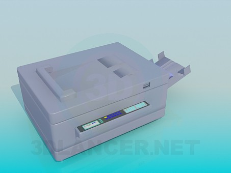 3d model Color printer - preview