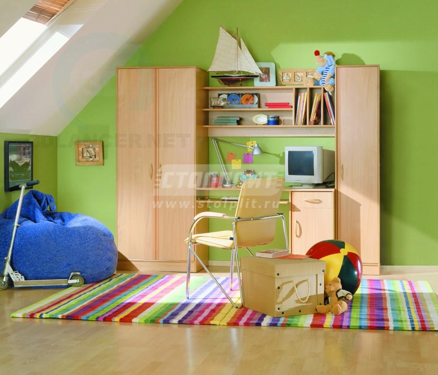 3d модель Детский гарнитур Хопто – превью