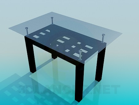 3d model Сoffee table - preview