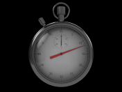 3D Stopwatch C4D