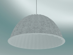 Pendant lamp Under The Bell (Ø55 cm, White Melange)