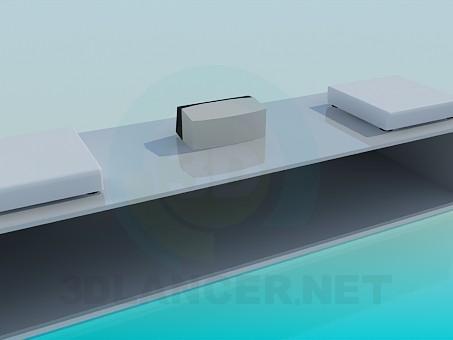 3d моделирование Подставка-тумба для техники модель скачать бесплатно