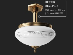 Lustre KUTEK DECOR DEC-PL-3