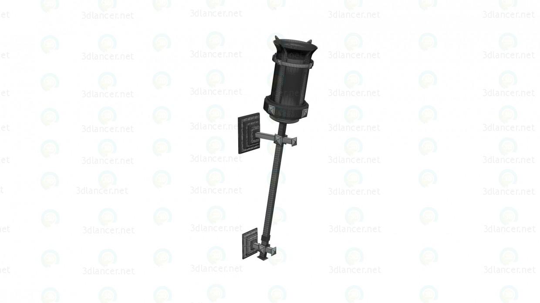 Lámpara antorcha 3D modelo Compro - render
