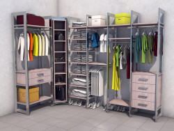 Wardrobe, dressing room