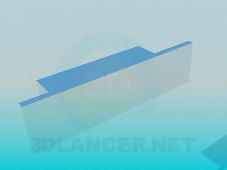 descarga gratuita de 3D modelado modelo Tiradores para muebles
