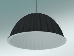 Pendant lamp Under The Bell (Ø55 cm, Black)