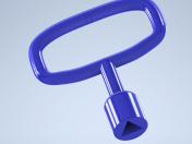 triangular key 9 mm