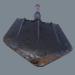 3d German sapper shovel WW2 3d model model buy - render