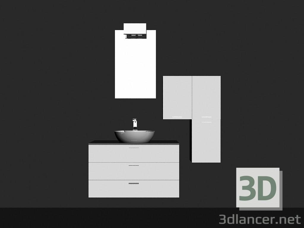 Modelo 3d Sistema modular para baño (canción) (19) del fabricante ...