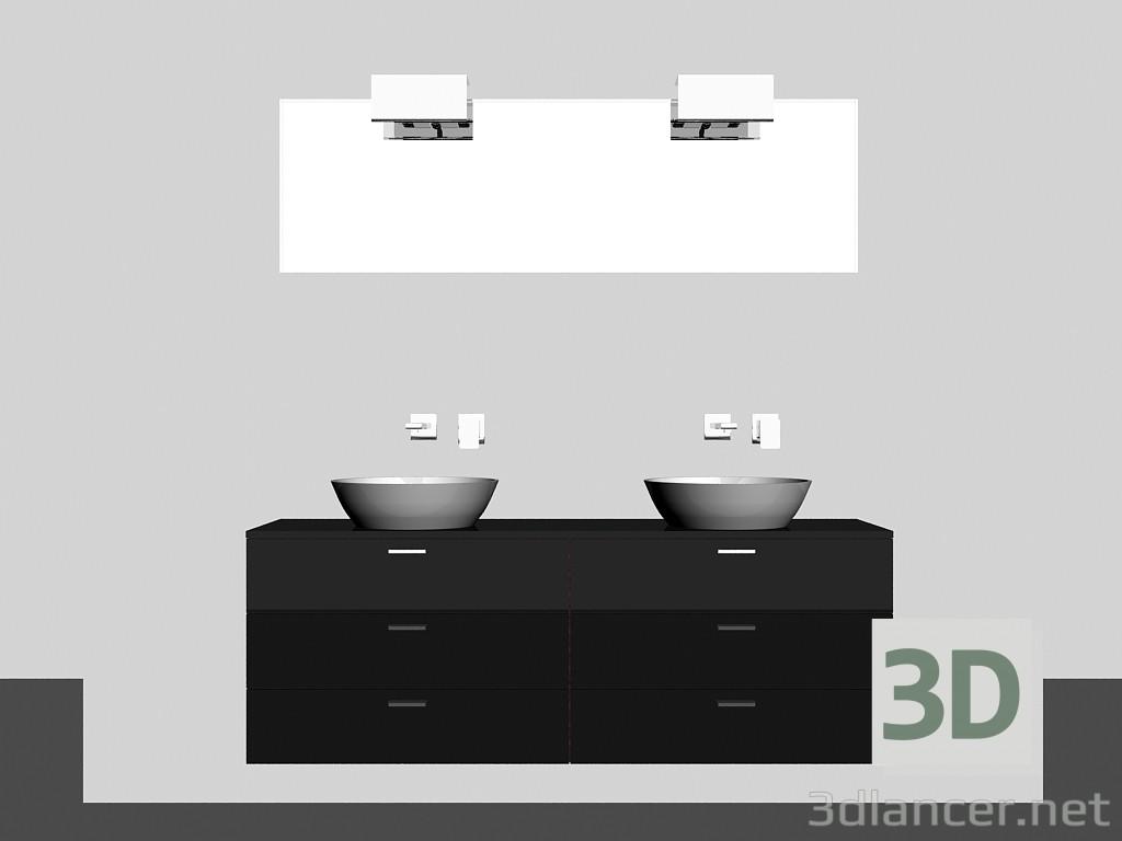 Modelo 3d Sistema modular para baño (canción) (22) del fabricante ...