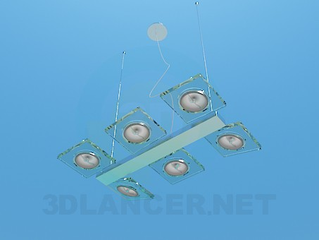 3d modeling Halogen lamp model free download
