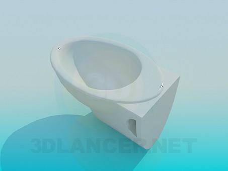 modelo 3D Bidet - escuchar