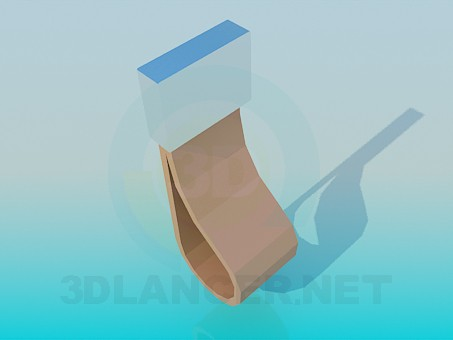 3d model Leather Handle - preview