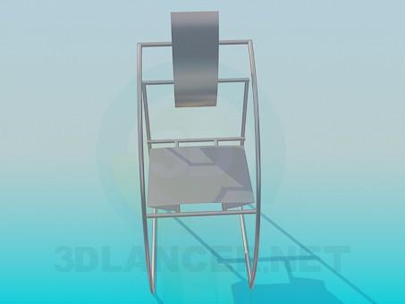 3d модель Футуристический стул – превью