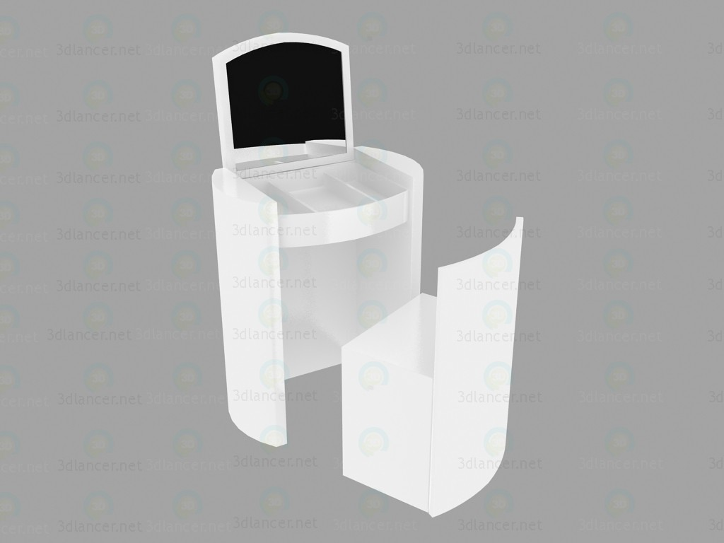 modelo 3D Comparsa de vanidad - escuchar