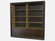 A large wooden wardrobe Don Giovanni Z03