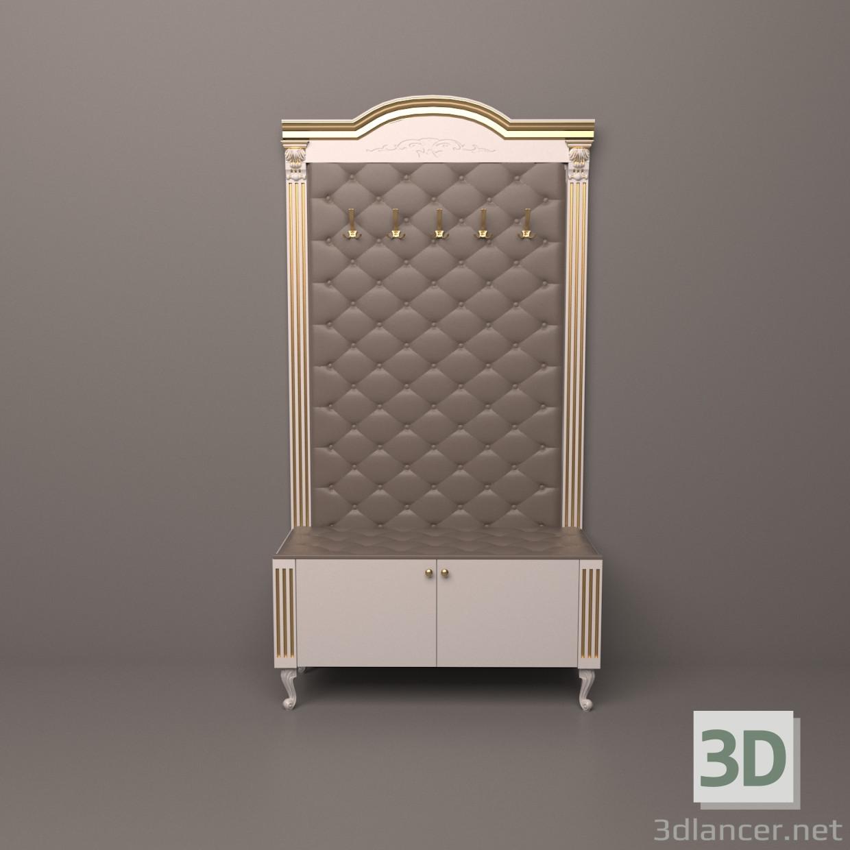 Modelo 3d Mueble de entrada en estilo Clasicismo ID 18095