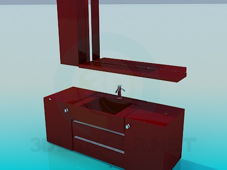 3d model Thumbs under the wash basin - preview