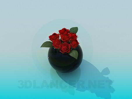 3d model Rose - preview