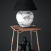 3d model Table lamp on the table - preview