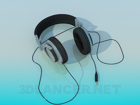 3d modeling Closed type headphones model free download