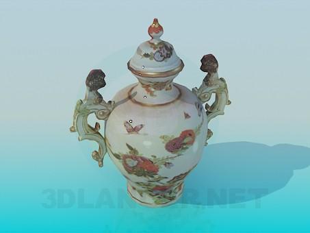 descarga gratuita de 3D modelado modelo Florero de