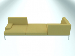 Canapé modulable ADD SOFT Vis-à-vis