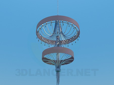 3d model High chandelier - preview