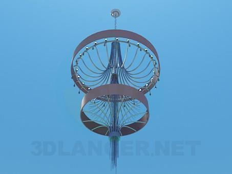 modelo 3D Lámpara alta - escuchar