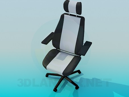 3d model Comfortable chair for office - preview