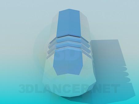 modelo 3D Perilla de muebles - escuchar
