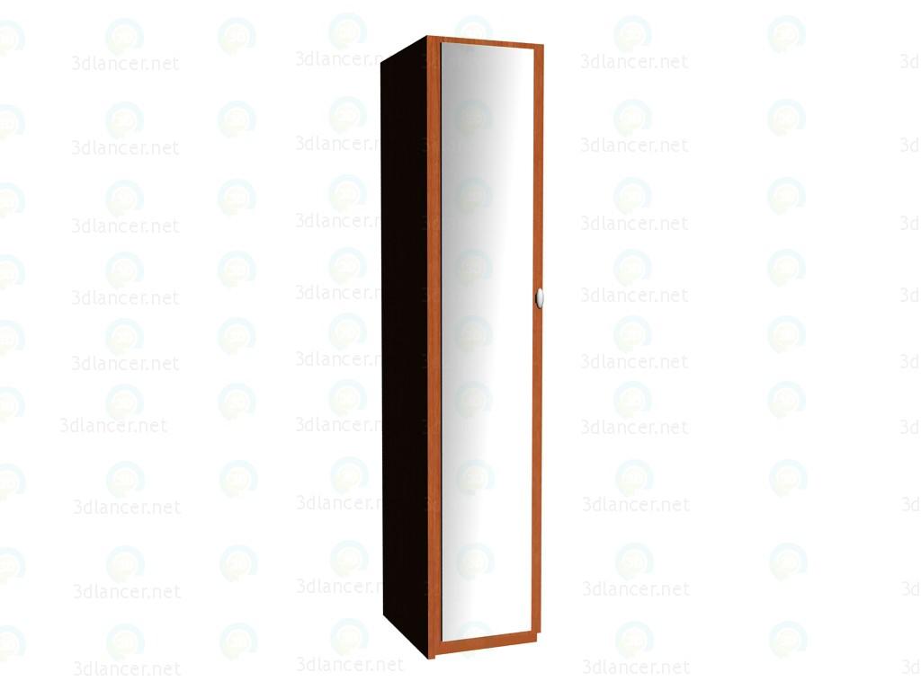 3d модель Приставка к шкафу 2-дверному c зеркалом VOX – превью