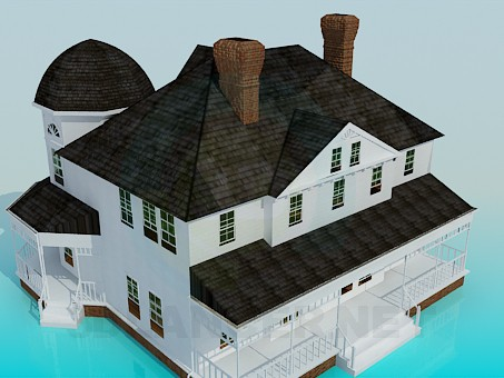 3d model Estate - preview