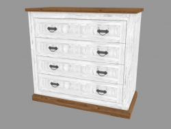 Chest of drawers 4S (PRO.044.XX 110x101x52cm)