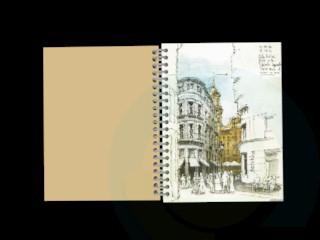 modelo 3D Copybook - escuchar