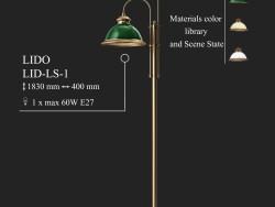Kronleuchter KUTEK LIDO Deckel-LS-1