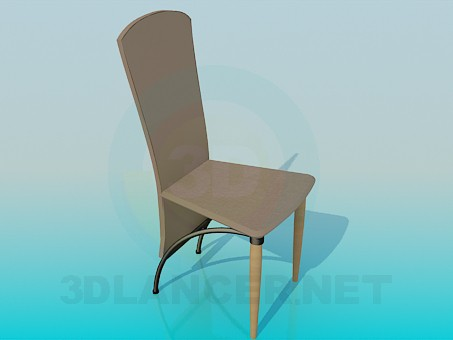 3d modeling Modern chair model free download