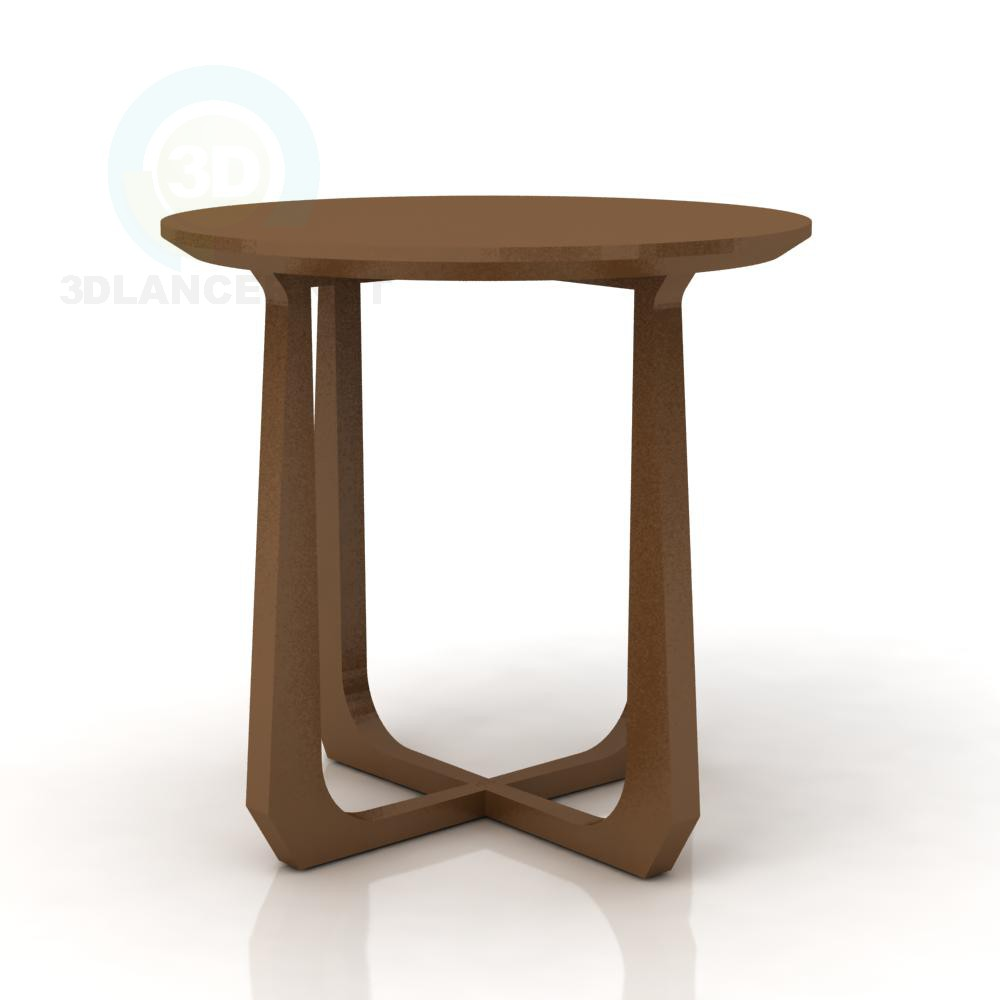 3d модель danish side table – превью