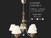 Люстра KUTEK (LUGANO) LUG-ZW-5