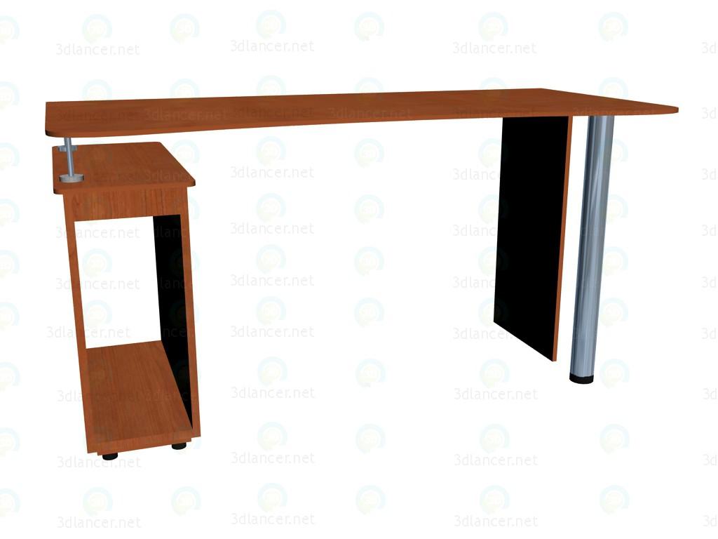 3d модель Стол письменный 150 – превью