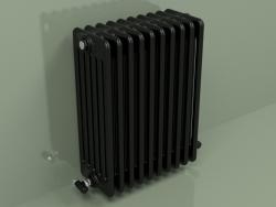 Radiator TESI 6 (H 600 10EL, Black - RAL 9005)