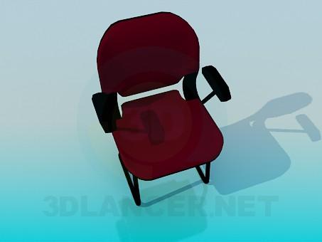 3d модель Стул в офис – превью