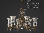 Люстра KUTEK NICO NIC-ZW-6-NEW