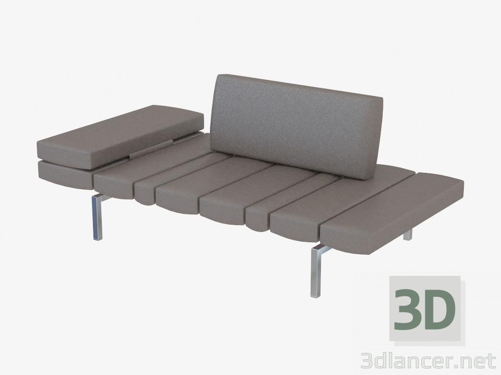 3d modella divano componibile in pelle a doppia smith dal produttore