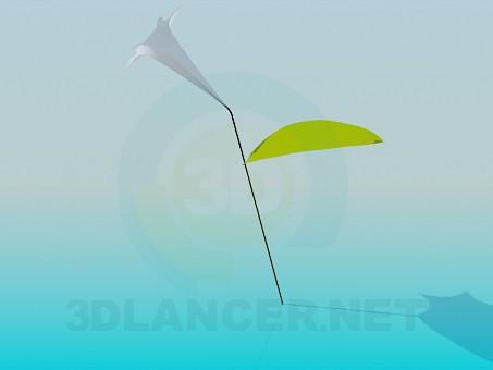 3d модель Цветочек – превью