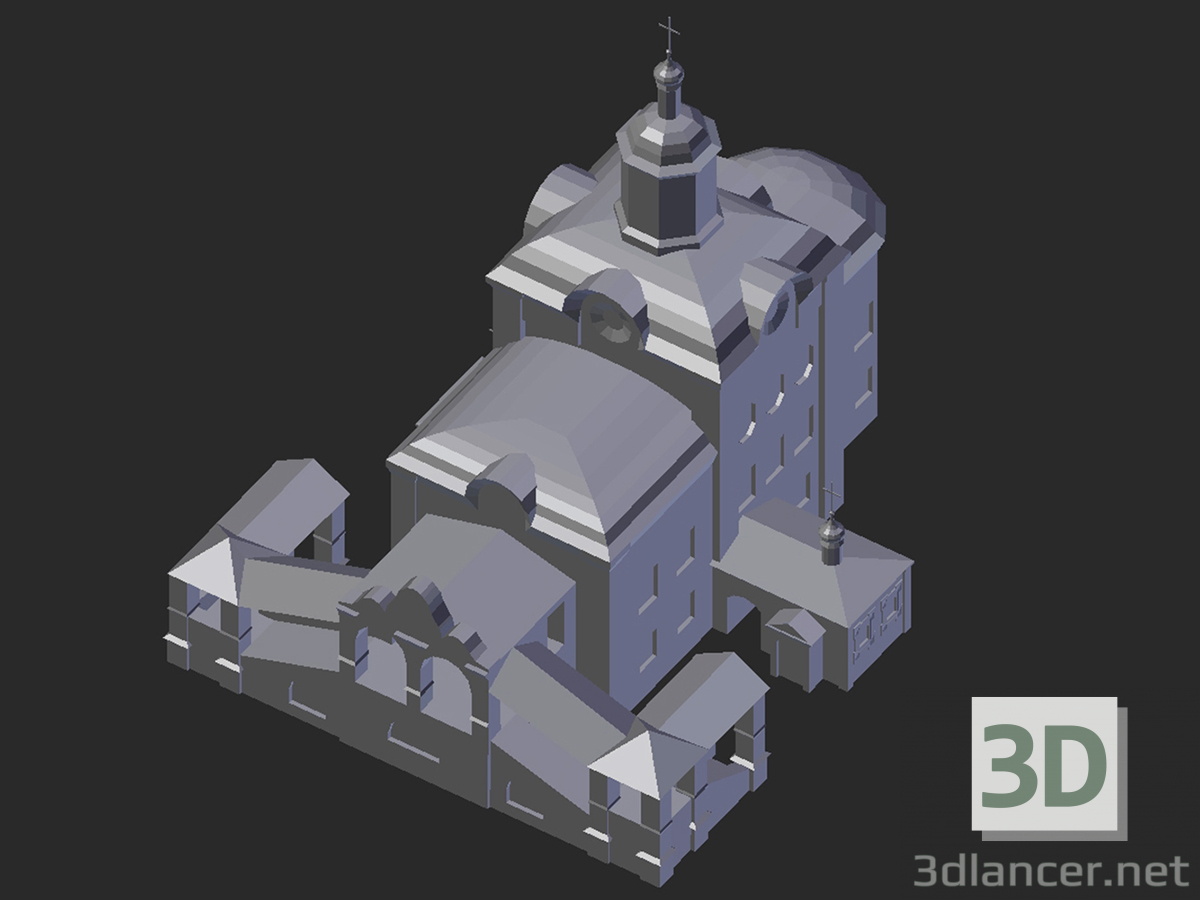 3d model Smolensk. Trinity Cathedral - preview