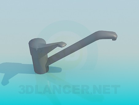 3d modeling Mixer tap model free download